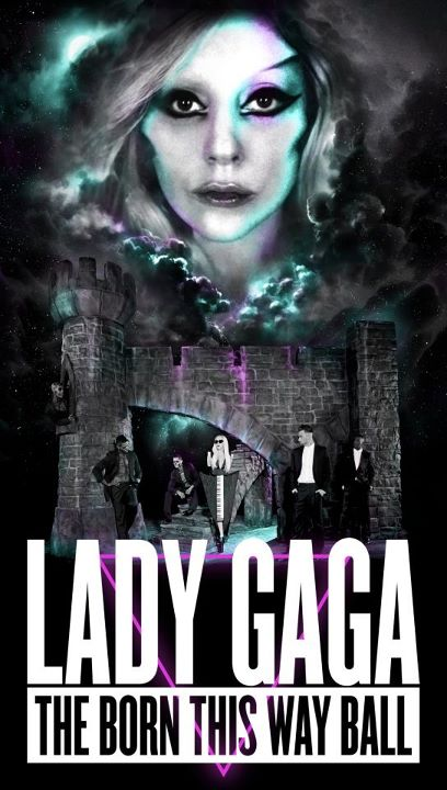 Lady Gaga Posts New Tour Poster On Twitter!!!!