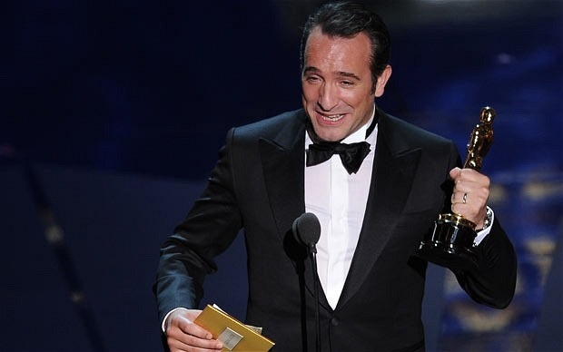 And the winners at the oscars 2012 where luke williams for Dujardin the artist