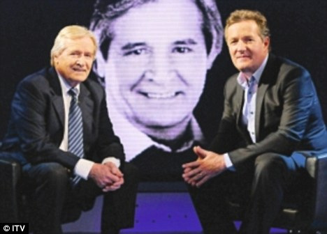 Bill with Piers Morgan on his show Life Stories