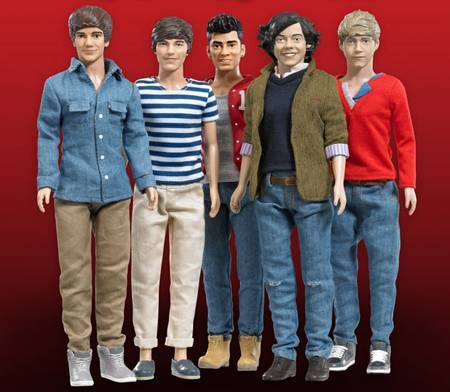 One Direction: 12 Inches dols