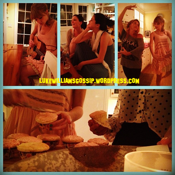Selena Gomez & Taylor Swift Make Cupcakes