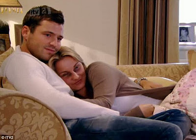 The Only Way Is Essex Sam Faiers cuddles boyfriend Mark Wright recovers assault 23