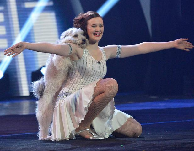 Ashleigh and Pudsey win britans got talent