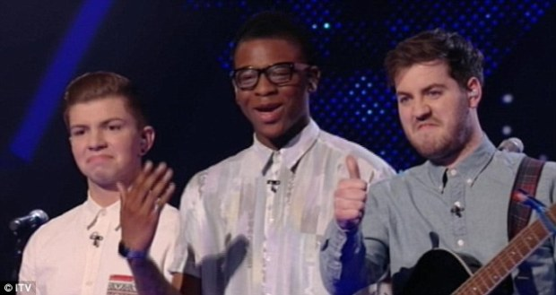 London 'lad band' Loveable Rogues performed their own song Honest