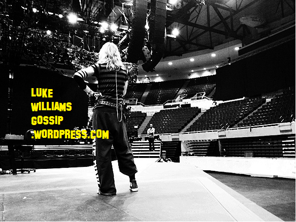 Madonna Shows Off MDNA Tour Rehearsals