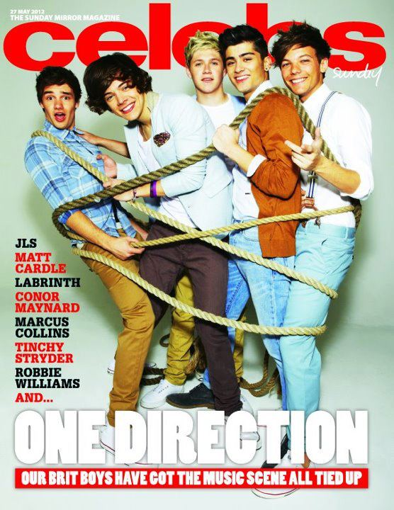 one direction cover celebs magazine