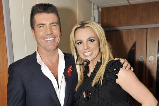 simon+cowell+and+britney+spears