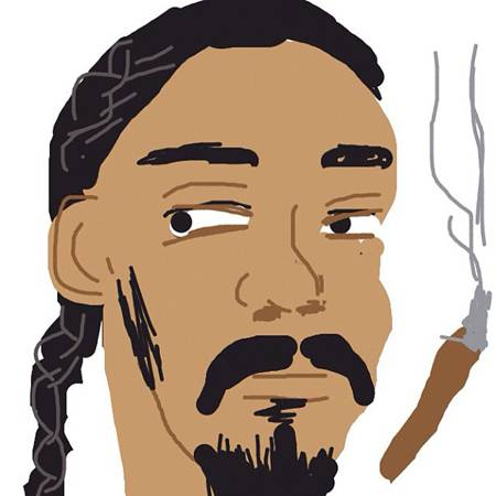 Snoop Dogg Draws Himself On Draw Something!