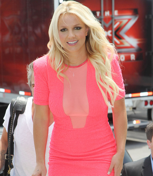 Britney Spears Reviles The Real Reason Why She Walked Off X Factor Set!