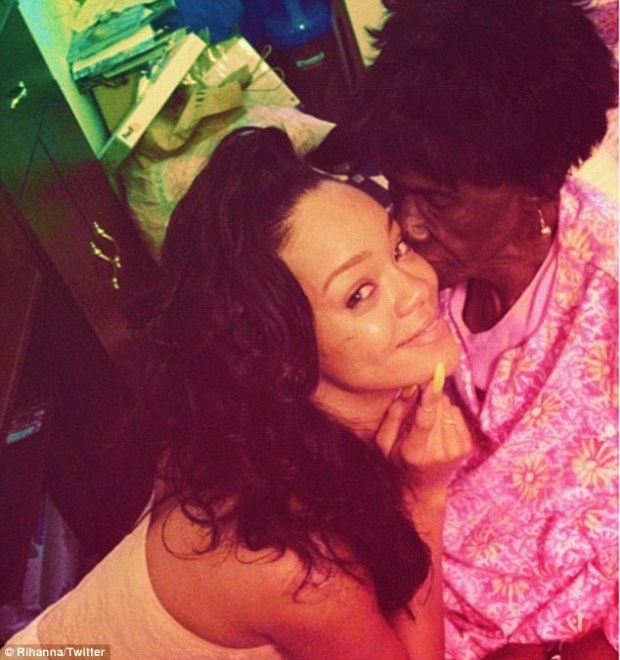 Rihannas Grandmother Dolly Passes Away