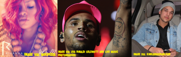 Chris Brown, Rihanna And Rob Kardashian Spotted Clubbing Together!