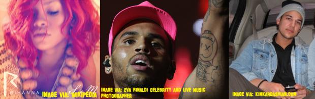 Chris Brown, Rihanna And Rob Kardashian Spotted Clubbing Together!