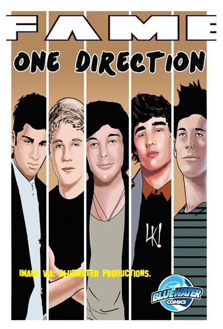 One Direction Get Turned In To Cartoons In New Comic Book!