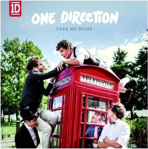 One Direction Mess Around On A Phone Box For New Album Cover!
