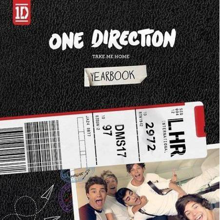 One Direction Show Of New Album Cover!!