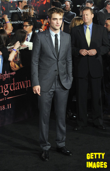 Robert Pattinson And red carpet
