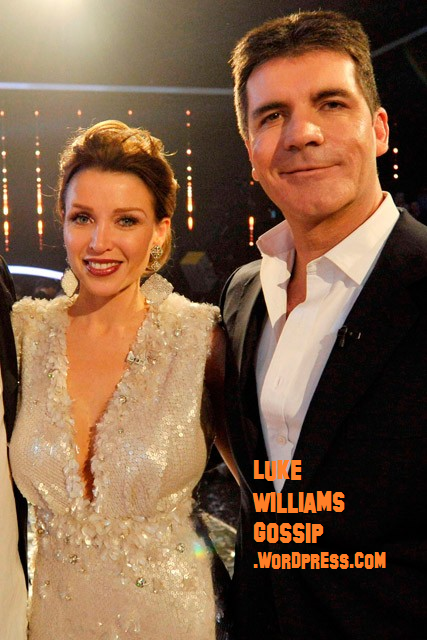 Simon Cowell & Dannii Minogue