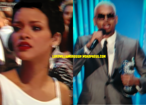 Chris Brown's Neck Tattooo Is NOT Rihanna!
