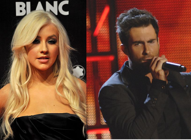 Christina Aguilera Says She's Going To Miss Adam Levine When She Leaves The Voice!