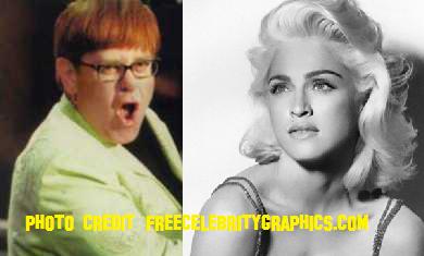 Elton John And Madonna