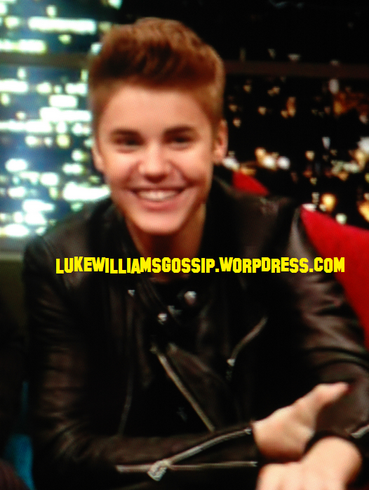 Justin Bieber Appears On The Jonathan Ross Show WATCH HERE!!