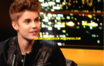 Justin Bieber Shows Off His Puppy Face On The Jonathan Ross Show 2