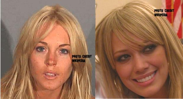 Lindsay Lohan & Hilary Duff