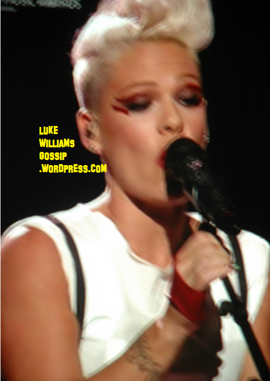 Pink Flashes Her Underwear As She Appears On The Ellen DeGeneres Show!