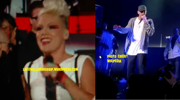 Pink Makes Music With Eminem Called The Weekend LISTEN HERE!!