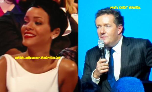 Rihanna And Piers Morgan