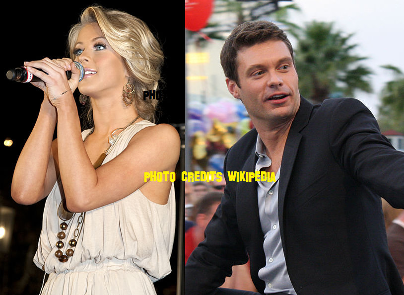 Ryan Seacrest and Julianne Hough are such a good couple together but ...
