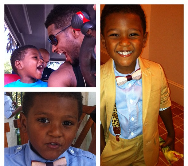 Usher Skips Tour For His Kids
