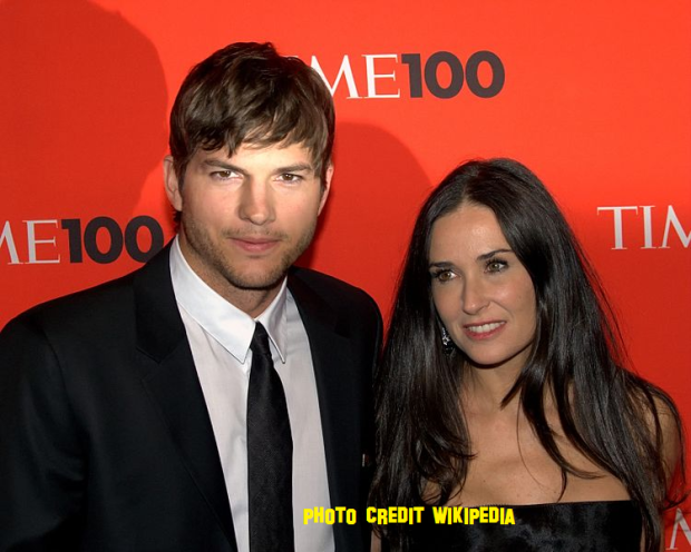 Ashton Kutcher And Demi Moore Are Still Married Because 'He's Cheap'