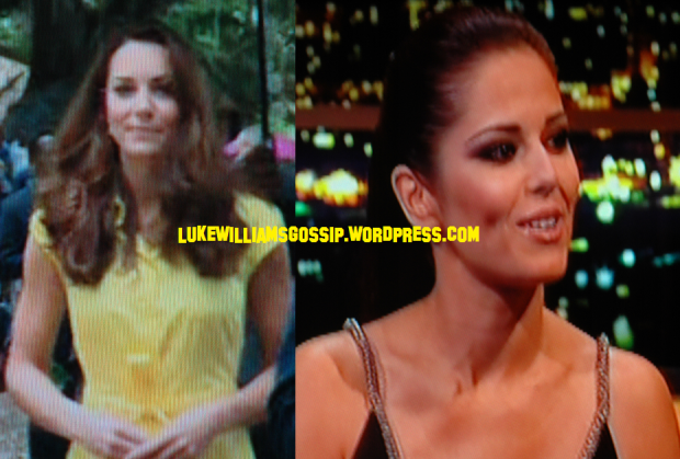 Cheryl Cole Thinks Kate Middleton Has A Nice Pair Of Boobs!