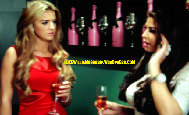Jessica Wright had a heart-to-heart with Lucy Mecklenburgh