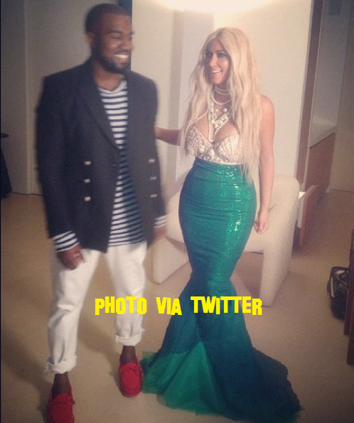 Kim Kardashian And Kanye West Spotted Out For Halloween!