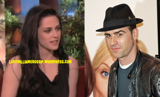 Kristen Stewart Flirts AND Secretly Meets Up With Jennifer Aniston's Fiance Justin Theroux