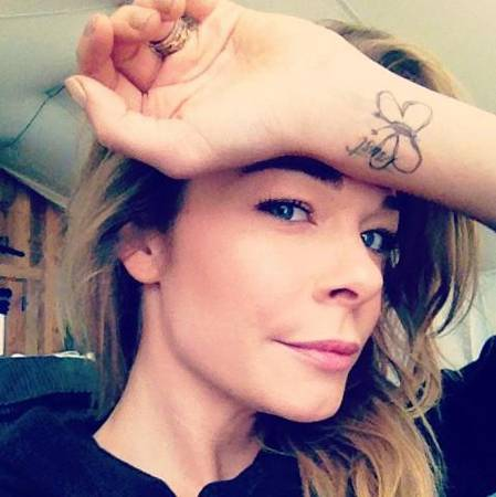 LeAnn Rimes new tattoo photo here