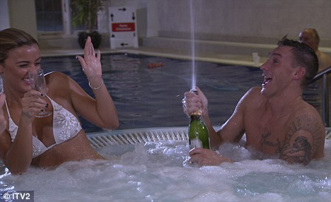 Lucy Mecklenburgh Gets Her Own Back On Cheating Boyfriend Mario Falcone As She Enjoys Champagne In The Jacuzzi With Kirk Norcross