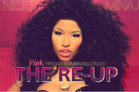 Nicki Minaj Shows Off New Album Cover For Roman Reloaded: The Re-Up!