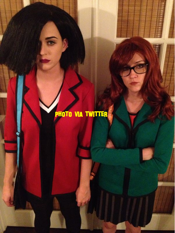 Katy Perry Goes Animated For Halloween!