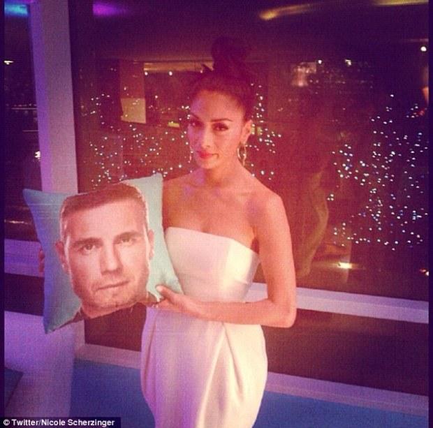 Nicole Scherzinger Reveals She Has A Gary Barlow cushion