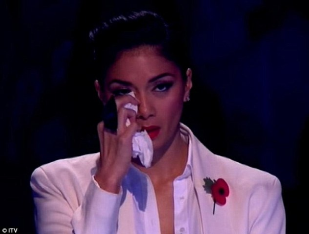 Nicole was moved to tears by District 3's performance