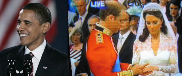 Prince William & Kate Middleton  Are Happy For Barack Obama!