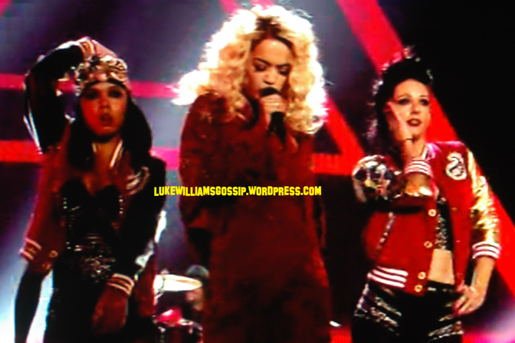 Rita Ora Takes To The Stage To Perform At The MTV EMAs 2