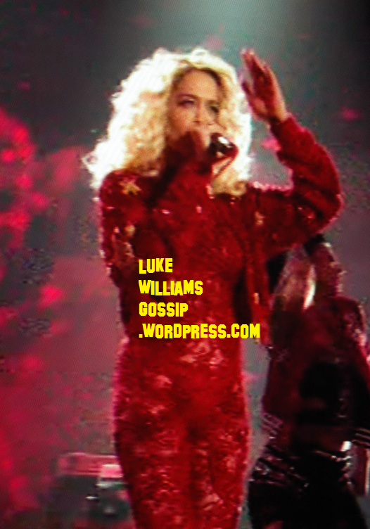 Rita Ora Takes To The Stage To Perform At The MTV EMAs