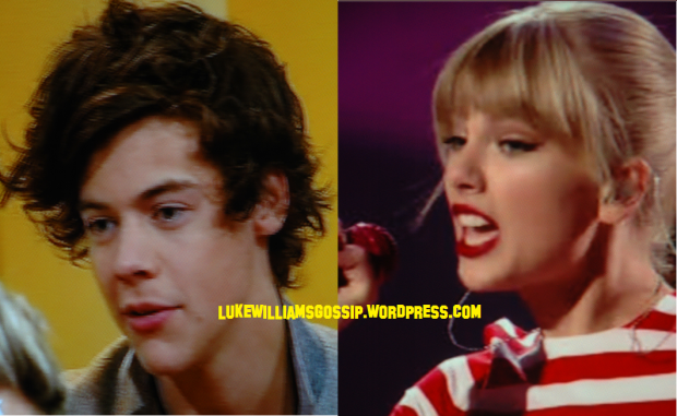 Taylor Swift & Harry Styles Get Friendly Backstage AT X Factor!