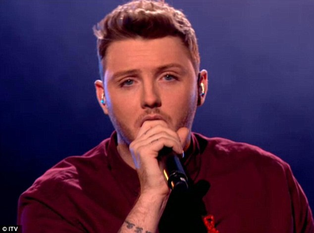 James Arthur Gets Told His Performance Was The 'Performance Of The Series' As He Performs His First Ballad
