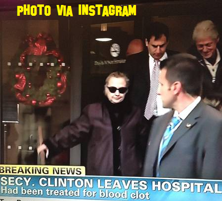 Hillary Clinton Released From Hospital!