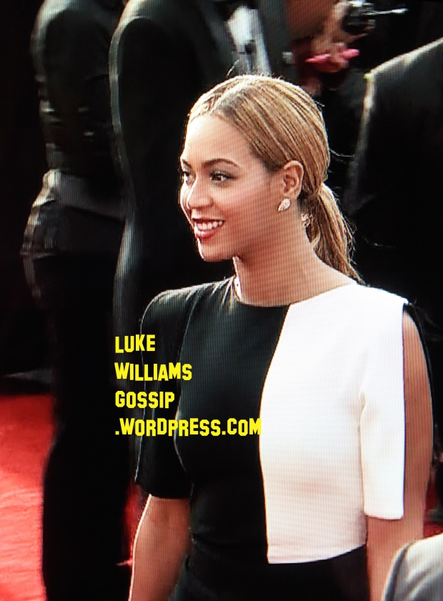 beyonce at the 2013 grammy awards arriving